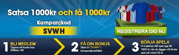 Kampanjer William Hill